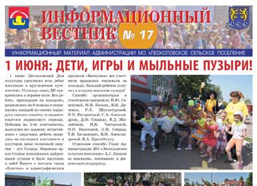 Информационный вестник N17 - 1 июня 2013 - День защиты детей