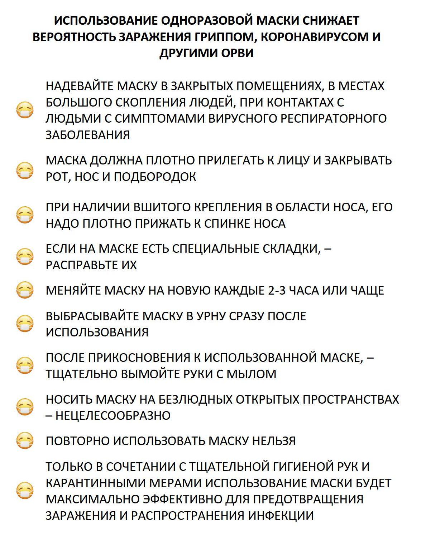 Памятка маска от гриппа, коронавируса и орви 30.01.2020 1_1